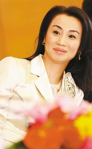 中国十大慈善美女亿万富豪 组图